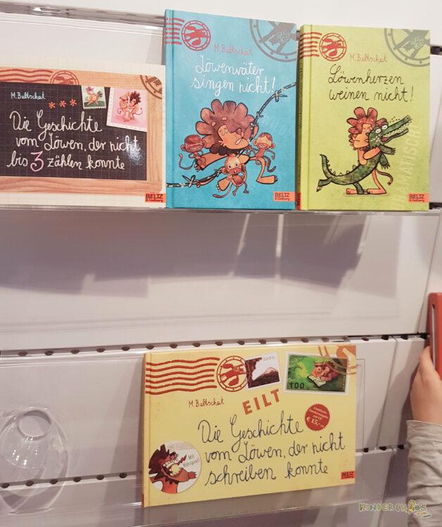 Frankfurter Buchmesse Beltz Verlag Martin Baltscheit Löwe