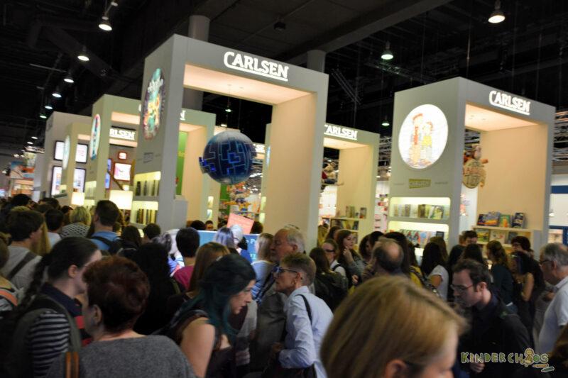 Frankfurter Buchmesse Massenansturm Carlsen Verlag