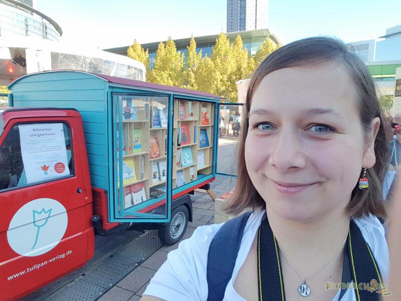Frankfurter Buchmesse Tag 2, Teil 2: Ein Verlag, zwei Verlage… und viele, viele Bücher!