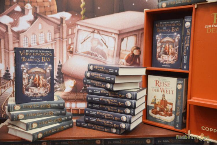 Frankfurter Buchmesse Bücher Verschwörung von Barrows Bay