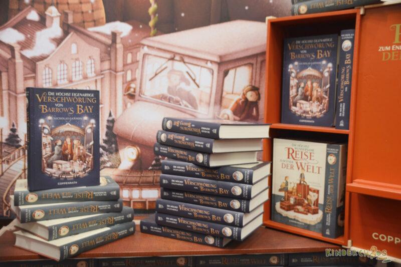 Frankfurter Buchmesse Verschwörung von Barrows Bay