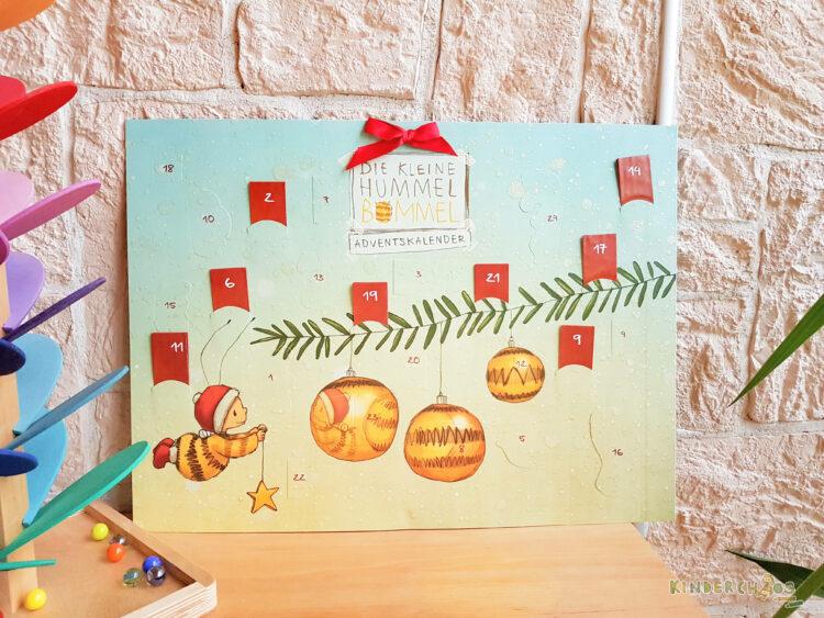 Adventskalender Die kleine Hummel Bommel Wochenende in Bildern WOB