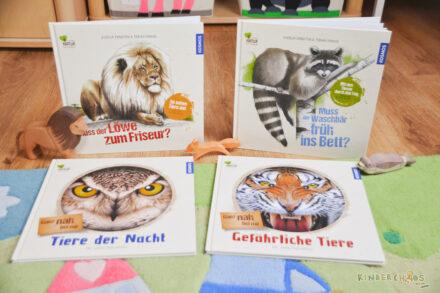 Natur von Anfang an: Mit den nachhaltigen Sachbilderbüchern von KOSMOS die Tierwelt entdecken! (Werbung)
