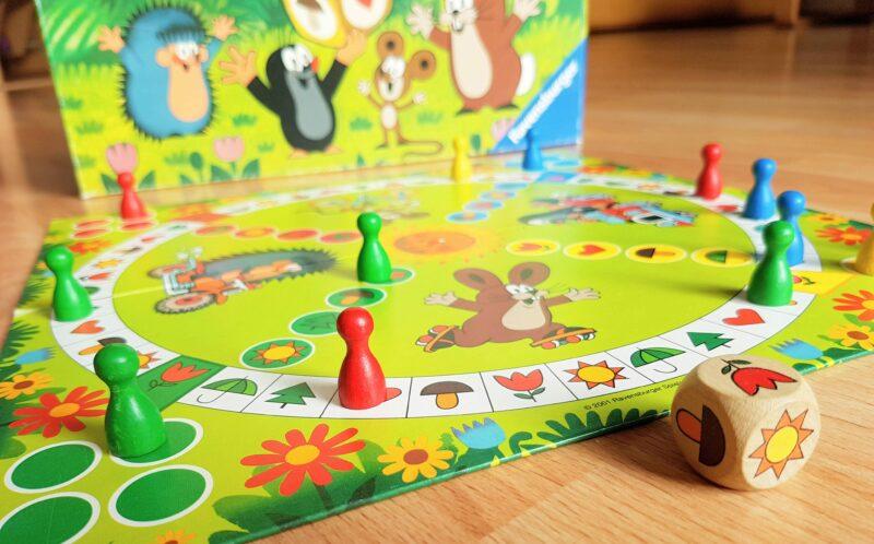 Der Maulwurf und sein Lieblingsspiel: Mensch ärgere dich nicht für die Kleinsten!