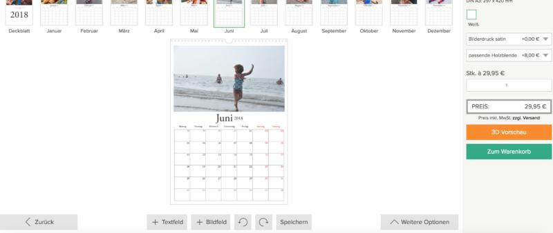 Sendmoments Kalender