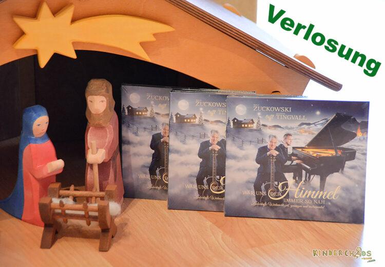 Rolf Zuckowski trifft Martin Tingvall: Wär uns der Himmel immer so nah Weihnachtslieder CD