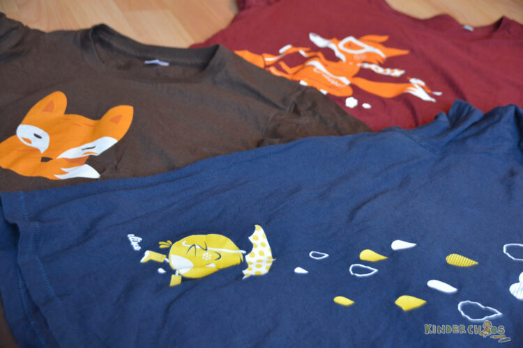 ALIVE Clothing fair fairtrade nachhaltige Kleidung Mode Fox Birdy in the rain