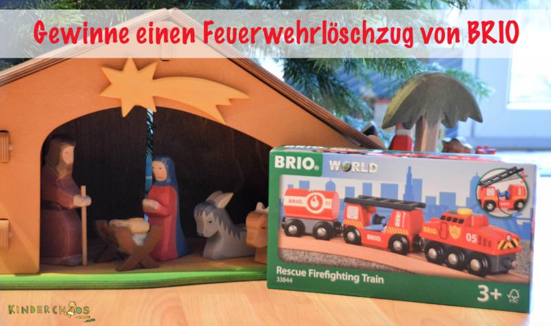Brio Feuerwehrlöschzug