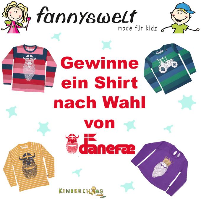 Fannyswelt Danefae Shirt Langarmshirt Kinderkleidung Kindermode
