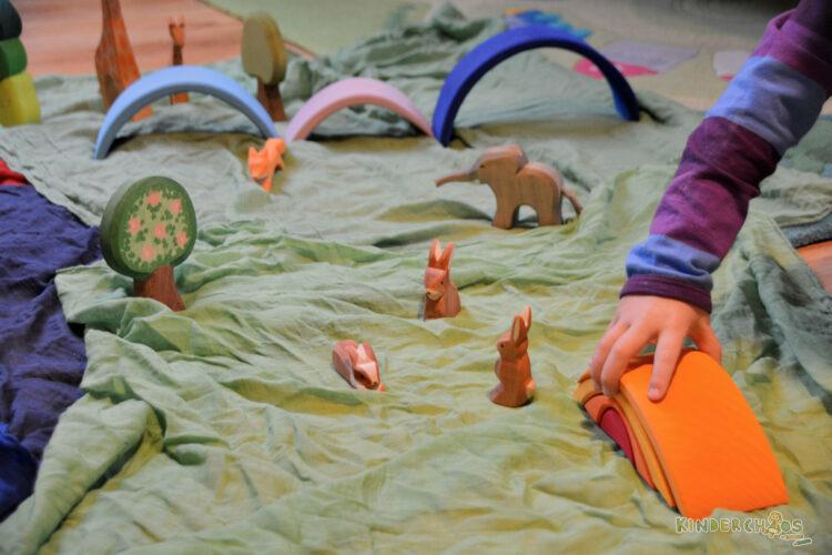 Sonnenaufgang Holzspielzeug Glückskäfer Nic Toys Spielzeug Kinderspielzeug Holz