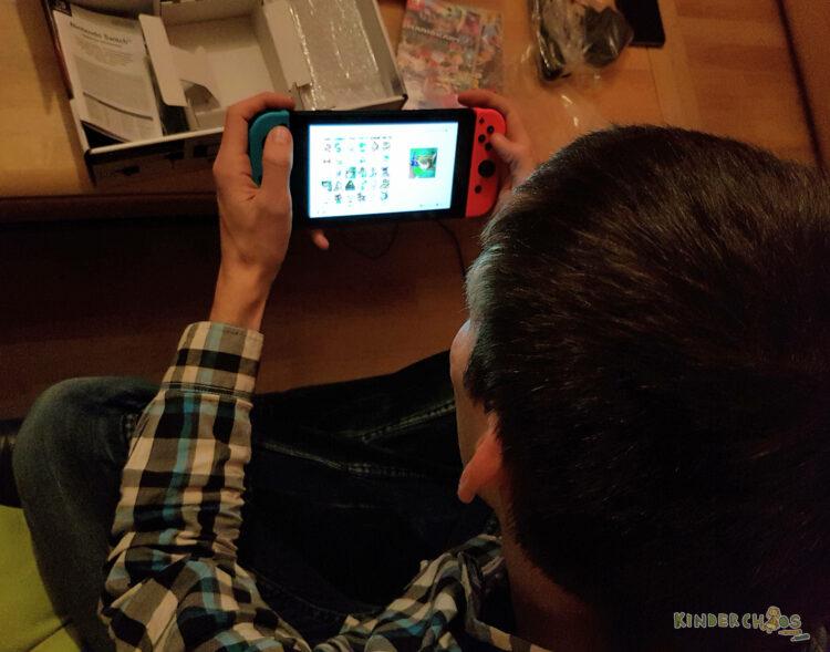 Nintendo Switch Spielekonsole Konsole für die ganze Familie Super Mario Odyssey Kart