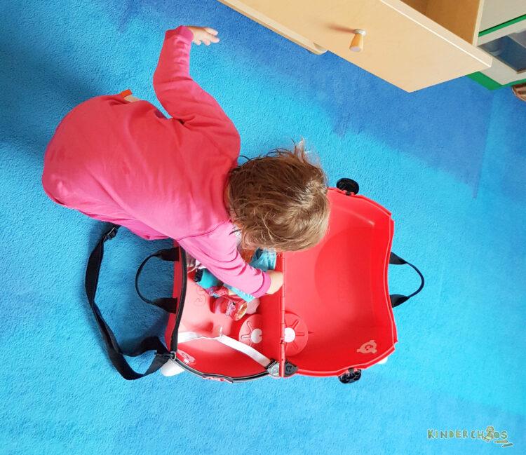 Trunki Koffer reisen Reisekoffer Kinderkoffer Kinder Urlaub mit Kind