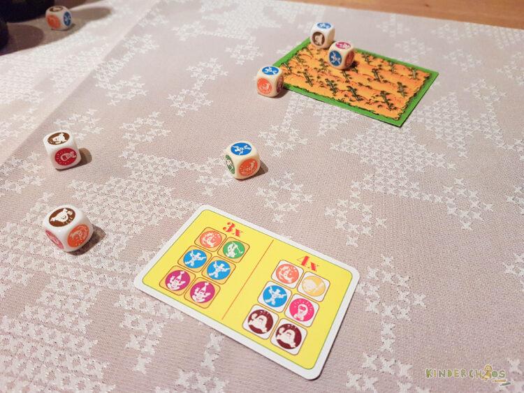 Würfel Bohnanza AMIGO Spiele Gesellschaftsspiel Würfelspiel Kinder Familie