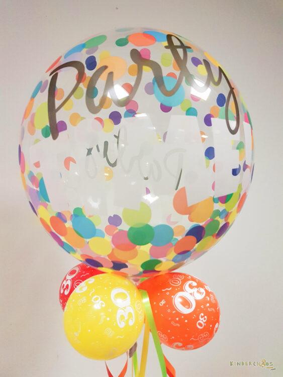 Jahresrückblick 2017 30 Jahre Geburtstag Luftballon