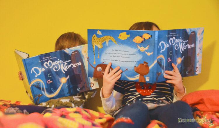 Die Magie meines Namens personalisiertes Kinderbuch Name Kind