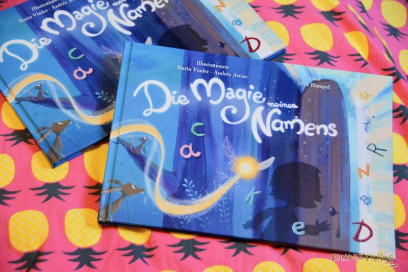 Die Magie meines Namens: Mein ganz persönliches Kinderbuch + Gewinnspiel