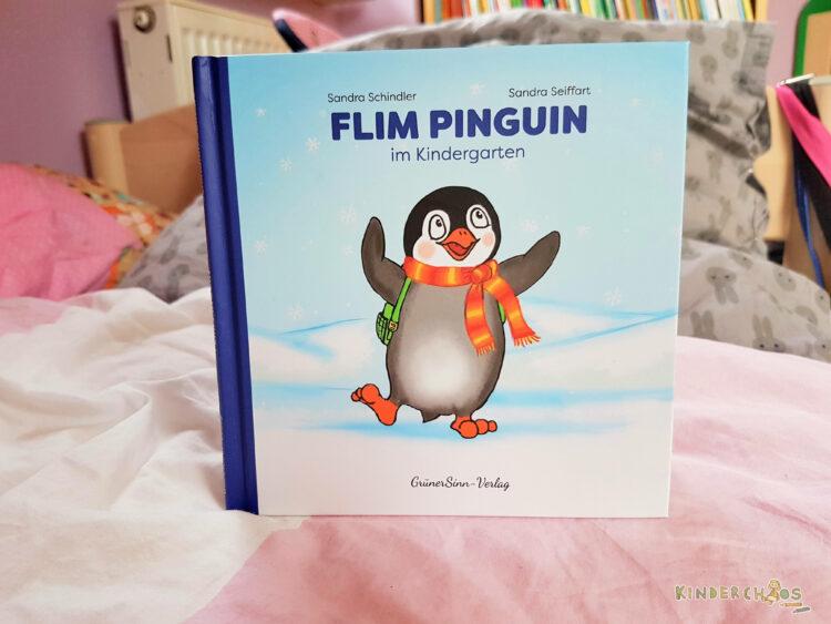 Flim Pinguin im Kindergarten Kindergartenstart Kinderbuch Bilderbuch Kleinkinder