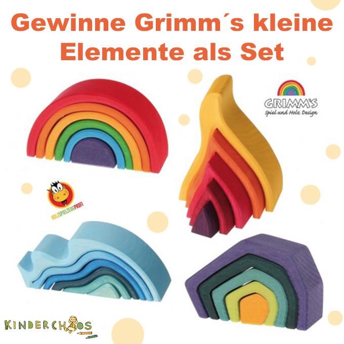 Grimm´s kleine Elemente Holzspielzeug Kinderspielzeug Holzspielzeugprofi