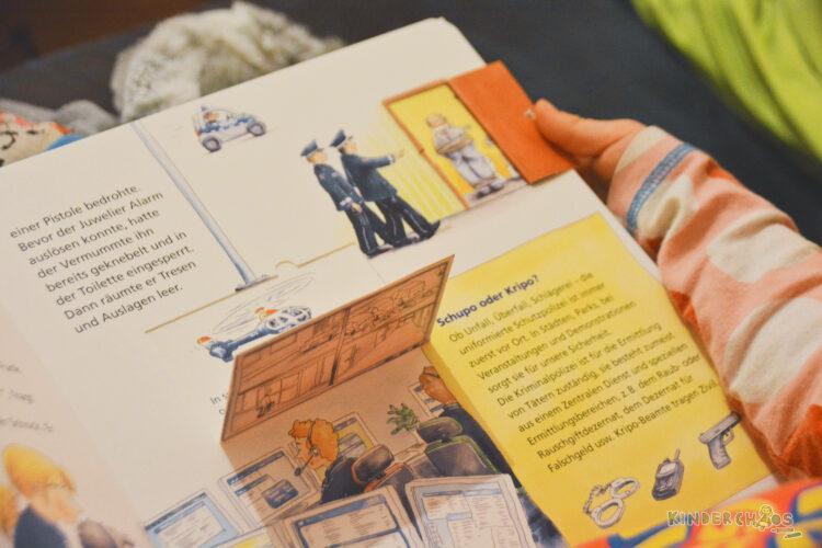 Carlsen Verlag Kinderbuch Sachbilderbuch Sachbuchreihe Guck mal Wie fängt die Polizei den Dieb?