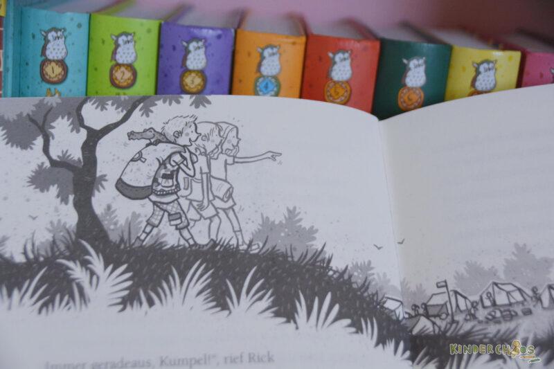 Die Schule der magischen Tiere – Endlich Ferien Silas Rick