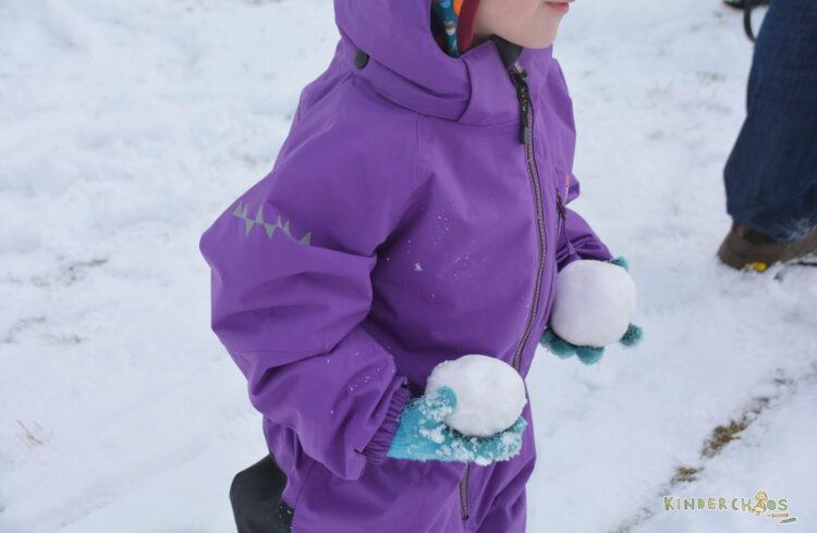 Visport Schlitten Holzschlitten Isbjörn Schneeoverall Kinder Overall Winter Penguin Waldkinderdinge