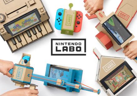 Nintendo Labo: Toy Con Multi-Set und Robo-Set für kreative Forscher und Spieler + Gewinnspiel
