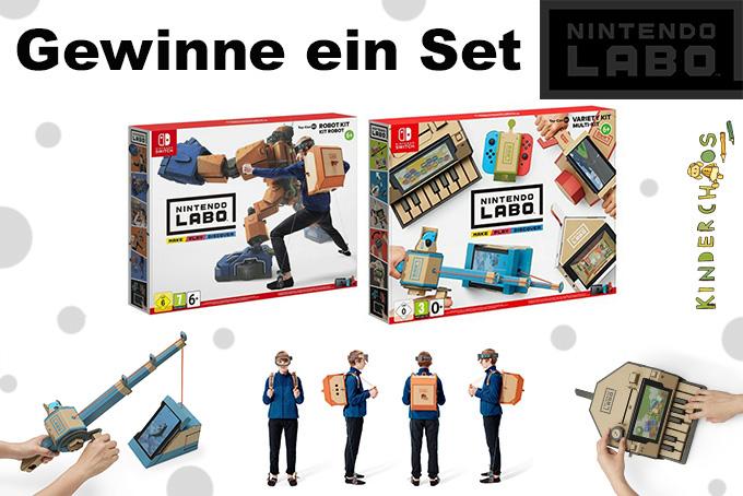 Nintendo Labo Toy Con Multi-Set Robo-Set Switch