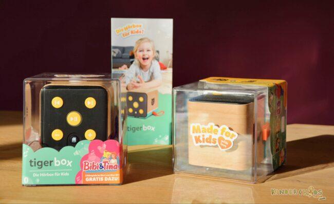 tigerbox von tigermedia: Die Hörbox für das Kinderzimmer + Gewinnspiel