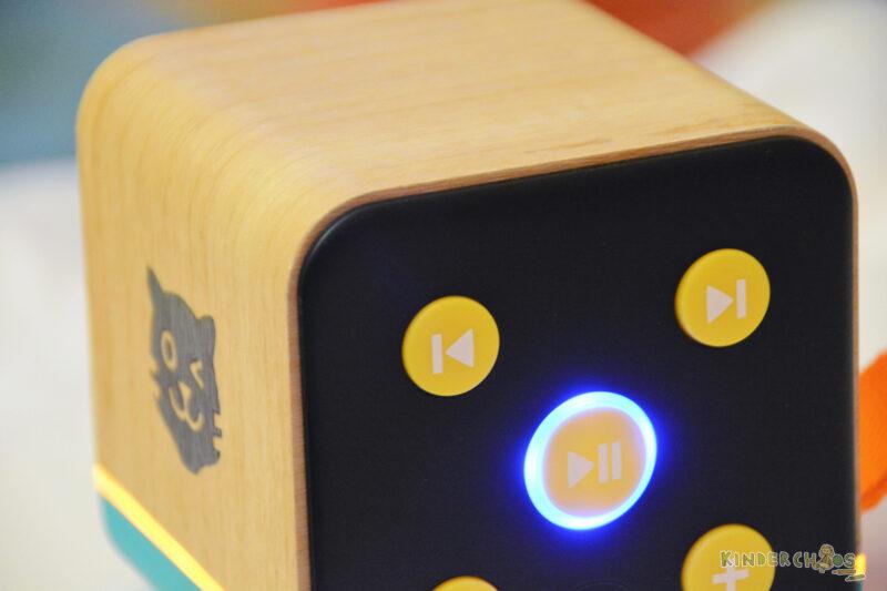 Tigerbox Kinder Musik hören
