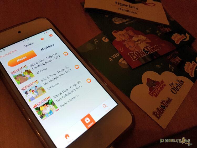 Tigerbox Tigermedia Tigertones Hörbox Musikbox Kinder Kinderzimmer
