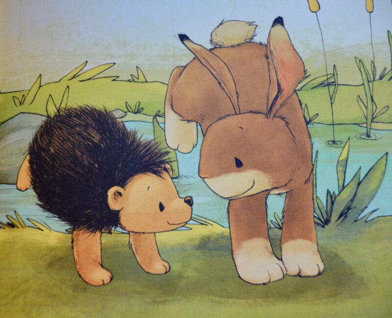 Wir zwei sind Freunde fürs Leben Kinderbuch Michael Engler