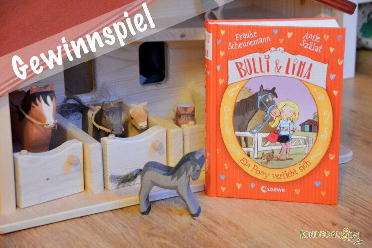 Bulli & Lina - Ein Pony verliebt sich Frauke Scheunemann Antje Szillat Loewe Pferde Pferdegschichte Ponygeschichte Pferdehof Reiterhof Kinderbuch