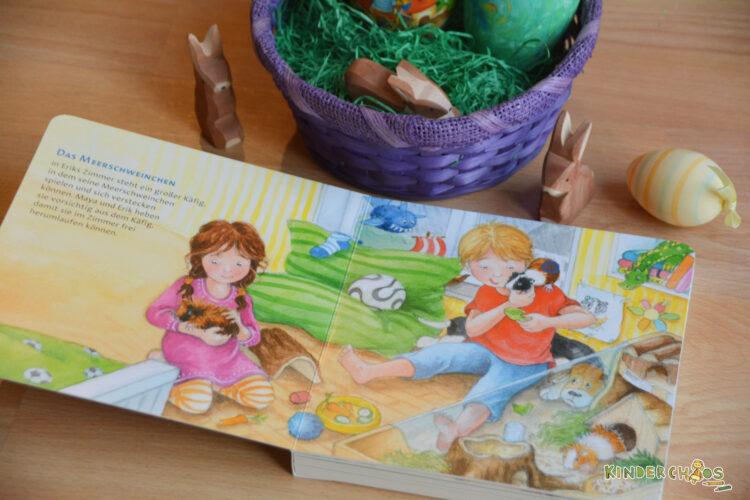 Carlsen Verlag Kinderbuch Hör Mal Unsere Haustiere Osternest