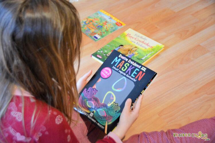 Carlsen Verlag Kreative Kratzkunst XXL Masken