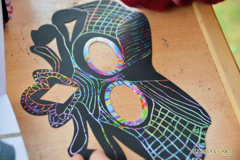 Carlsen Kreative Masken Kratbilder