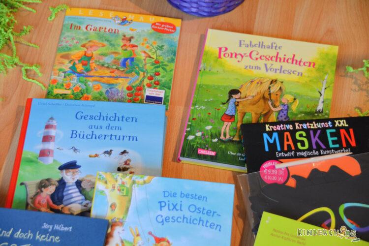 Carlsen Verlag Kinderbücher Lesemaus Im Garten Fabelhafte Pony-Geschichten zum Vorlesen Geschichten aus dem Bücherturm