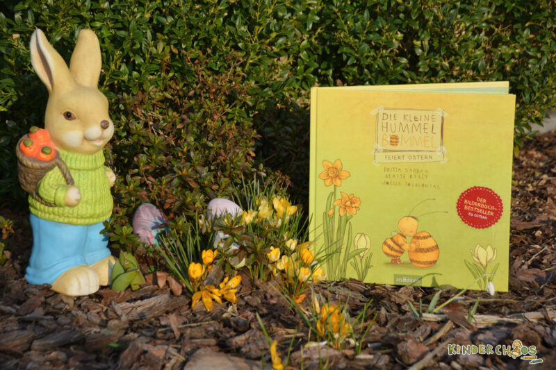Die kleine Hummel Bobbel feiert Ostern