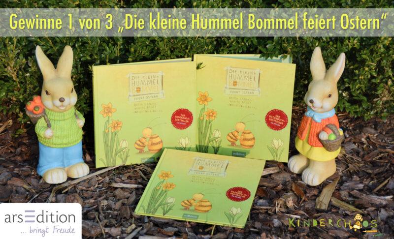 Die kleine Hummel Bommel feiert Ostern – Gewinnspiel 2
