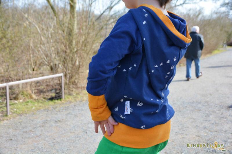 Fuchs & Kiwi Schwalben Hoodie blau