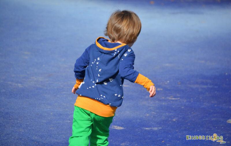 Fuchs & Kiwi Schwalben blau