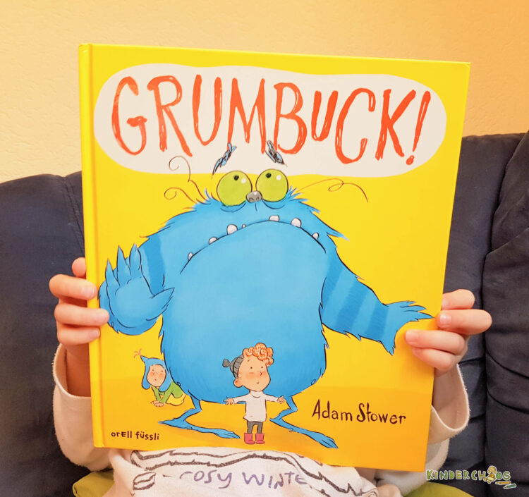 Grumbuck! Adam Stover Troll Oliver Kinderbuch orell füssli