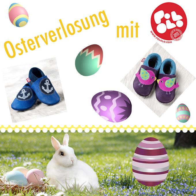 Frohe Ostern! – Osterverlosung mit den süßen Lederpuschen von Pololo