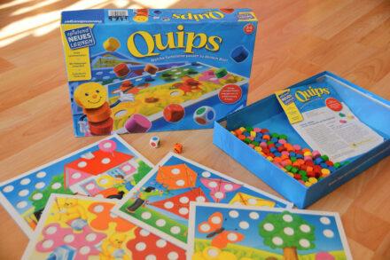 Quips – Spielend leicht in die Welt der Farben und Zahlen abtauchen!