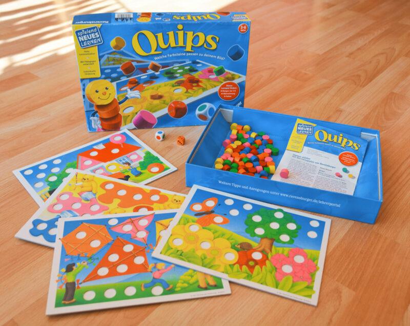 Quips Farben Zahlen Spiel