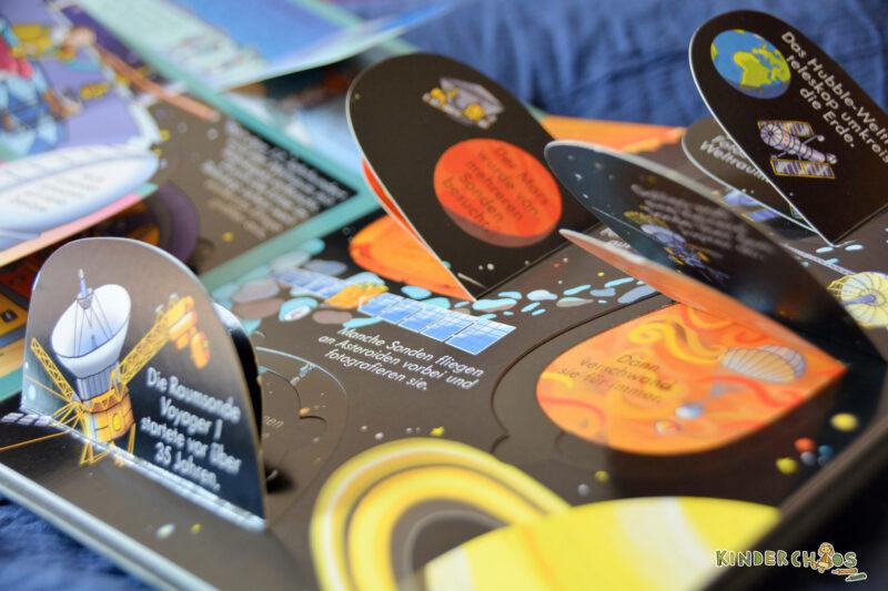 Aufklappen und entdecken – Im Weltraum Kinderbuch