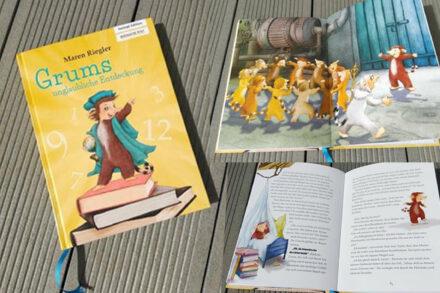 """Gastbeitrag von Christine: Kinderbuchvorstellung """"Grums unglaubliche Entdeckung"""""""