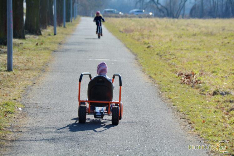 Hauck Toys Kettcar Go-Kart Thunder II 2 Kinder Fahrzeug Kinderfahrzeug