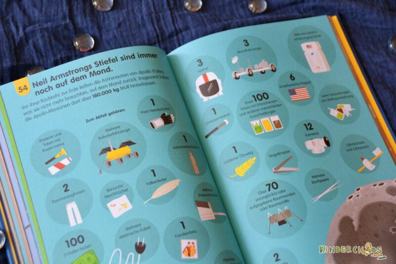 Ich weiß jetzt 100 Dinge mehr – Weltall und Raumfahrt Usborne Kinderbuch