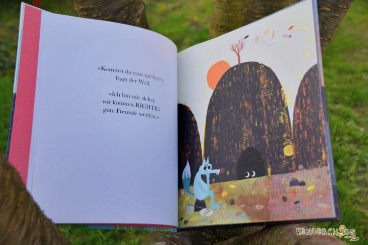 Kommst du raus spielen? Rob Hodgson Kinderbuch Bilderbuch arsEdition