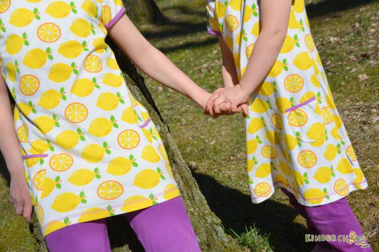 Maxomorra Frühling Frühlingskollektion 2018 Kinderkleidung Zitrone Lemon